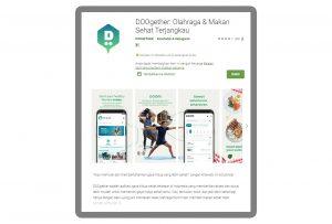 aplikasi olahraga dirumah lewat DOOgether